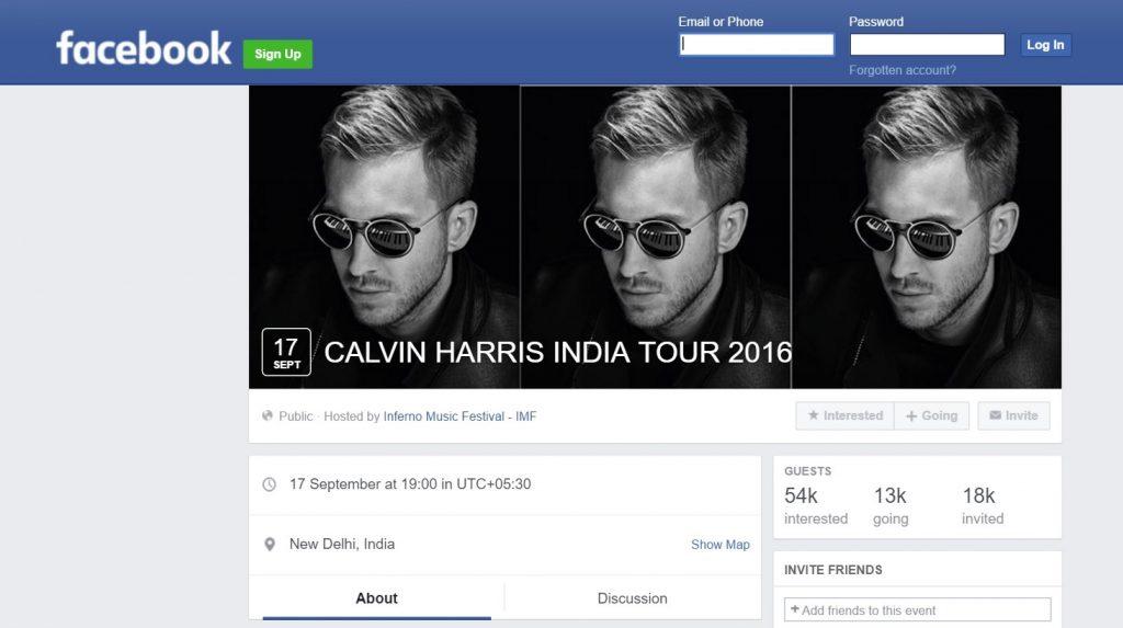 calvin harris india tour