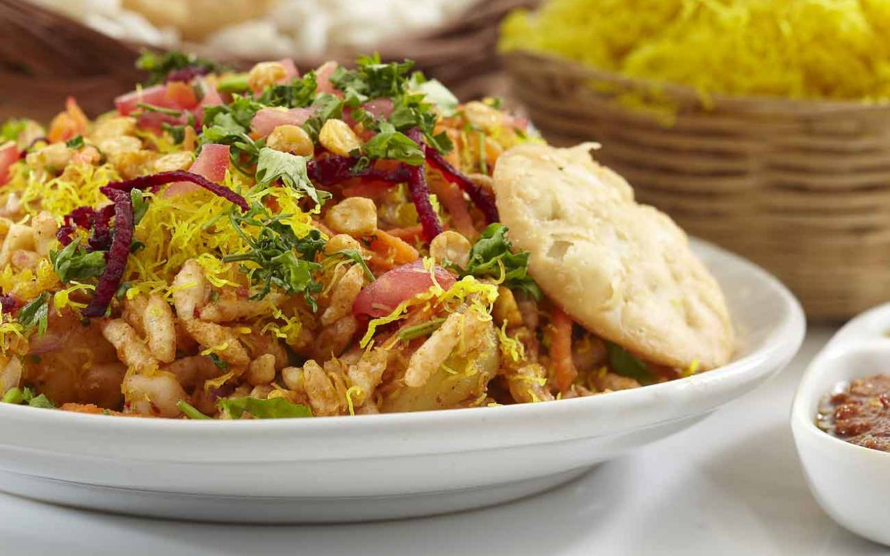 Image result for Bhel puri