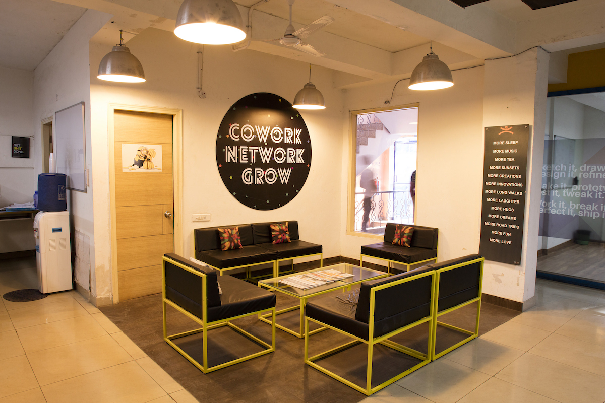 Startup with no office space relax head to any of these for Design space co