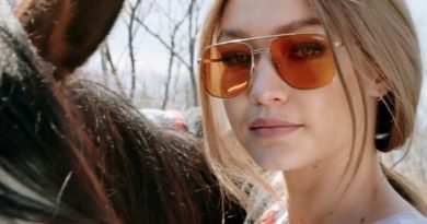 Hot News | Gigi Hadid's Original Vogue Eyewear Collection Is Now Available In Delhi!