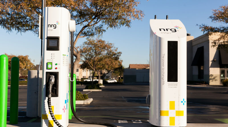 First e-Vehicle Charging Station Has Come to Town!