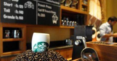 Starbucks now on Yamuna Expressway