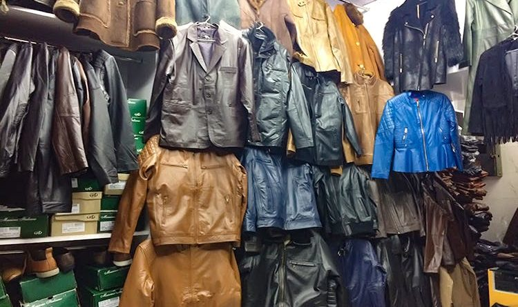 Score This Season's 1st Leather Jacket From This Insane Leather Market!!