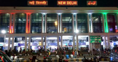 New Delhi Railway Station Gets A Facelift With Colourful Graffiti And Tribal Art