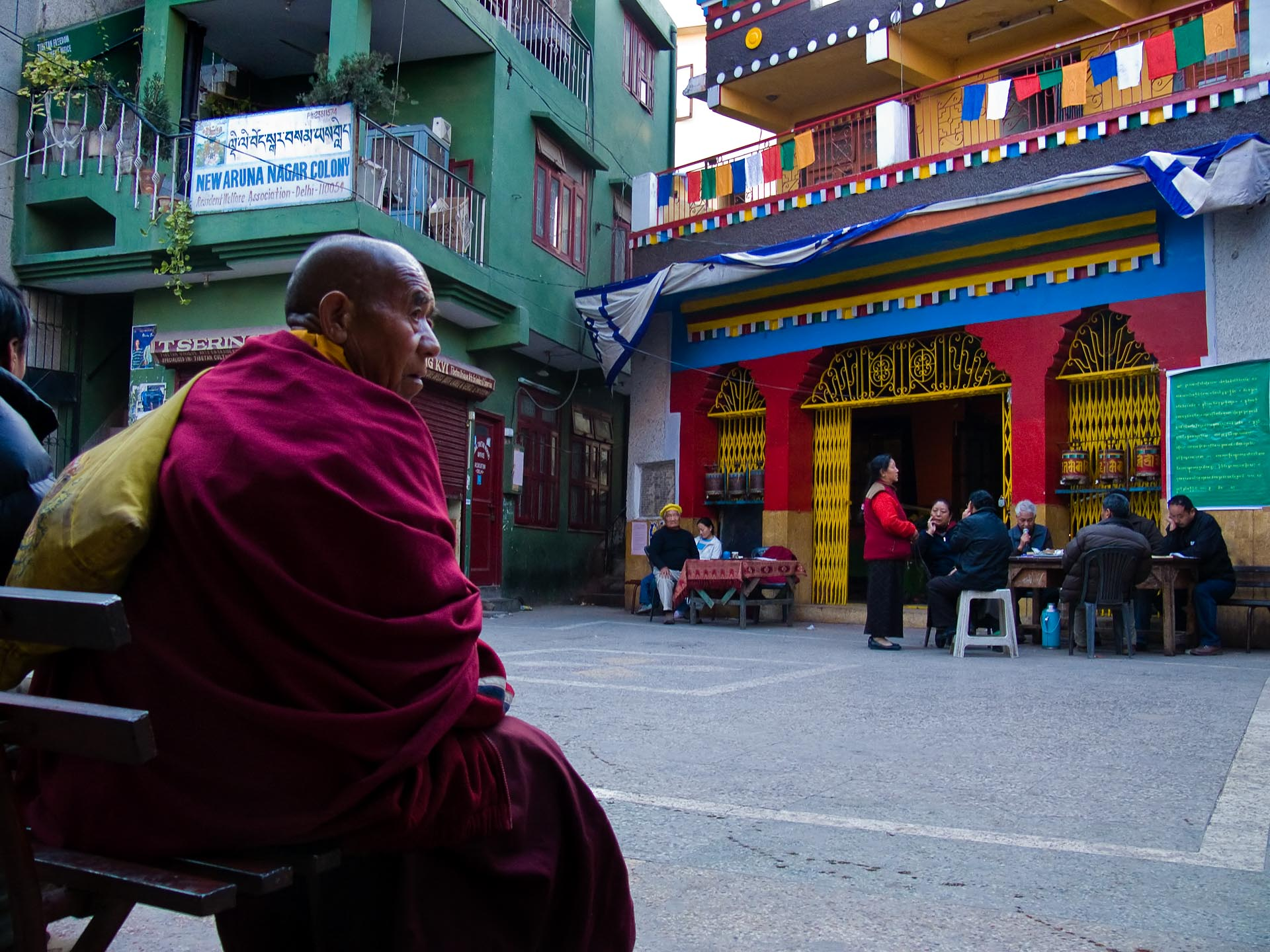 Image result for The Buddhist temple majnu ka tila