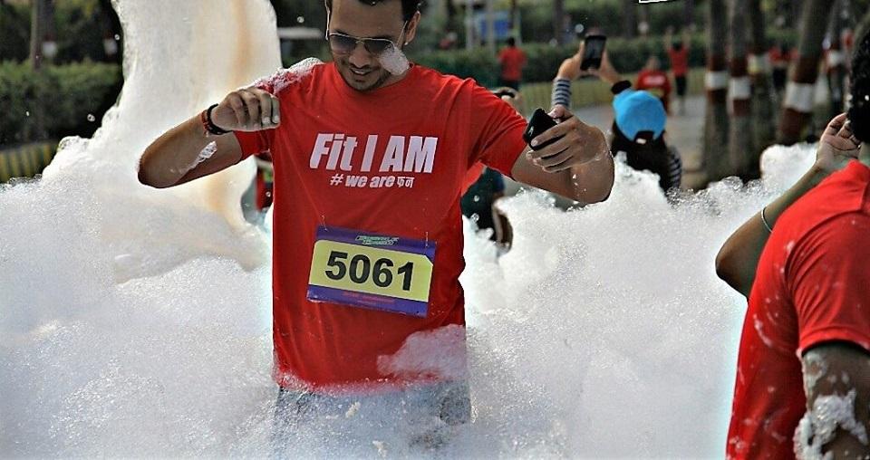 Bubble & Foam Dash