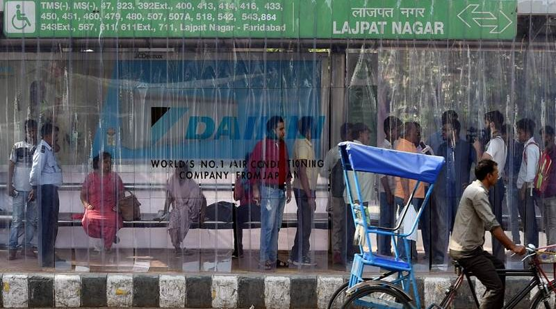 Delhi gets its first ever AC bus stand so we can finally kiss summer goodbye