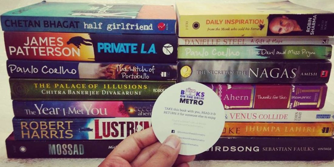 A Treasure Hunt Of Books On The Delhi Metro To Read, Share And Pass On!