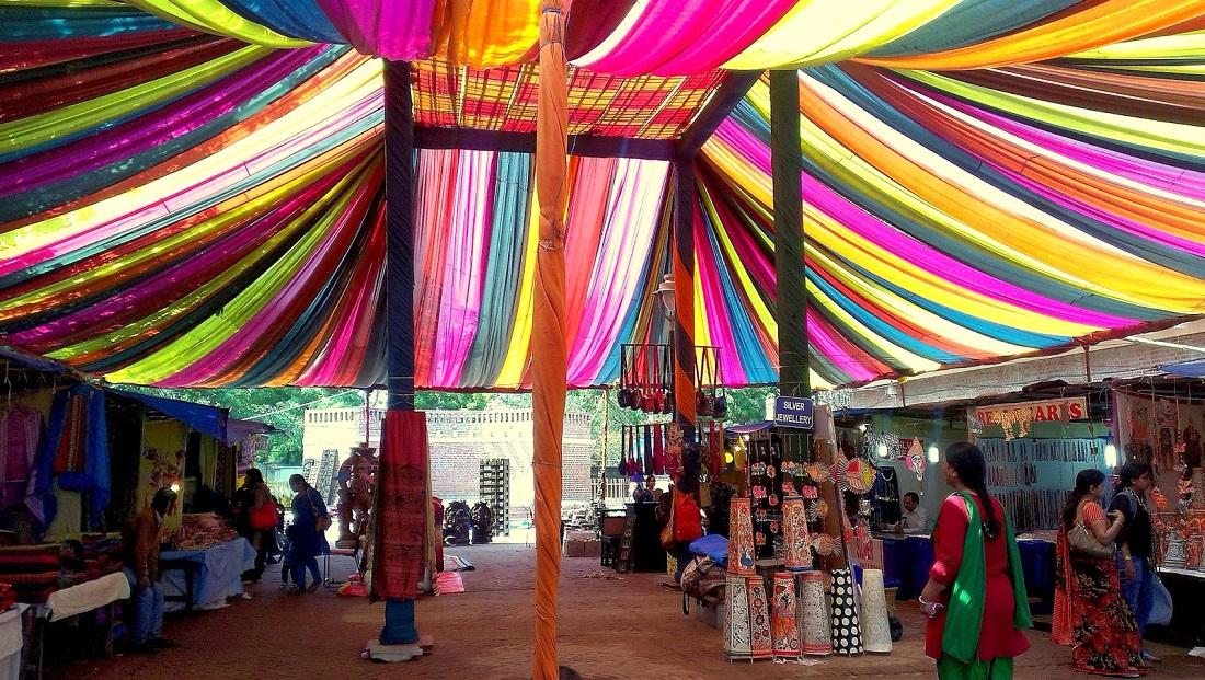 Head To Food Tastings, Film Screenings And An Organic Market @ Dilli Haat!