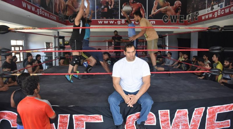 5 Hours From Delhi Lies The Great Khali's Own Wrestling Academy!