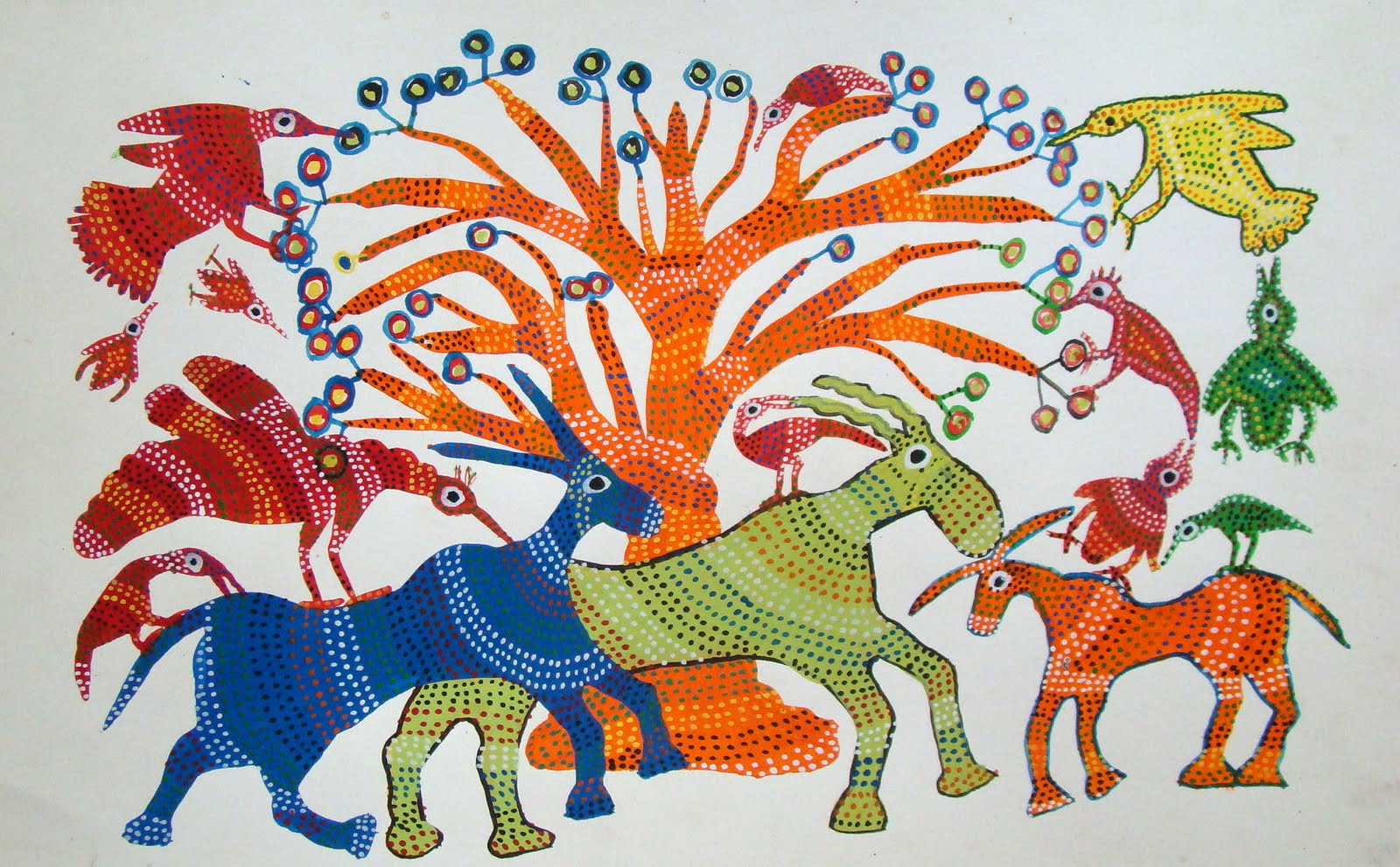 Must Art Gallery Is Featuring Gond Tribe's Art Forms And You Just Can't Miss it!