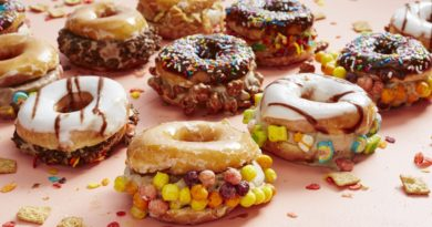 This Place Is Serving Some Delicious Ice-Cream Donut SANDWICHES!