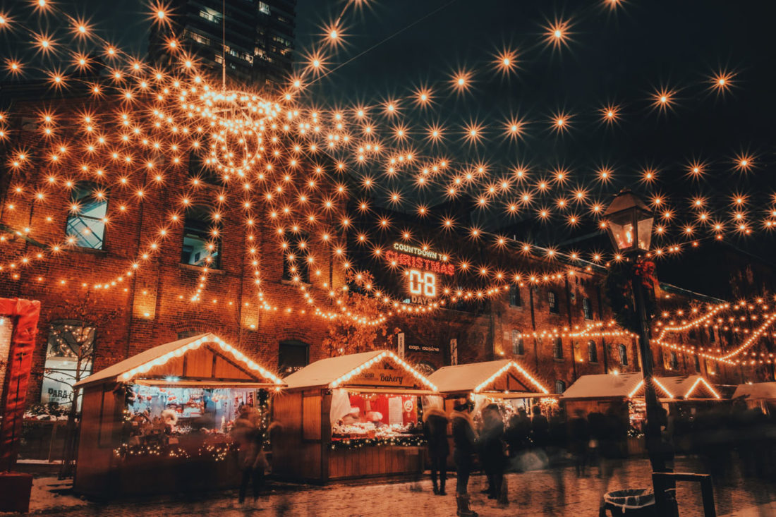 Get Into The Christmas Spirit At German Christmas Market!