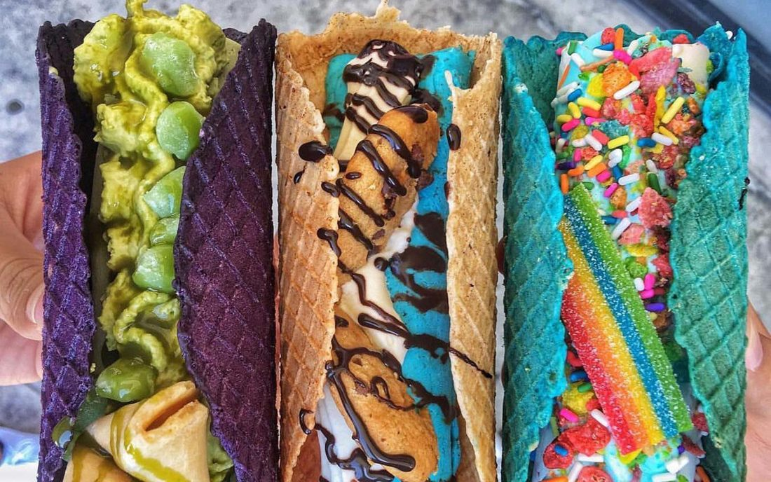 Ice Cream Tacos And Bubble Gum Shakes? Get Them All Here!