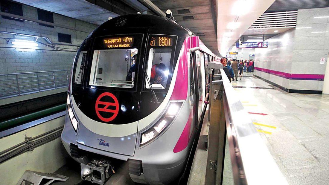 Delhi To Get 7 New Subways On Magenta Line To Help Pedestrians