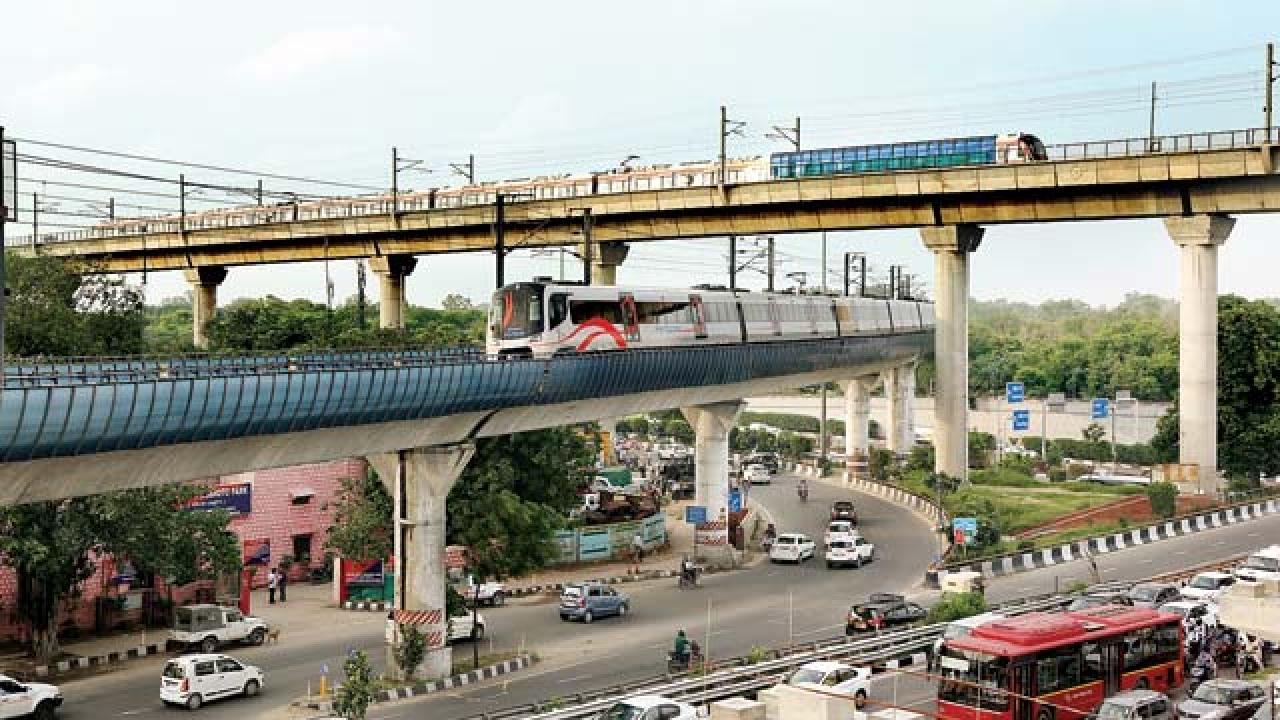 Image result for delhi metro pink line