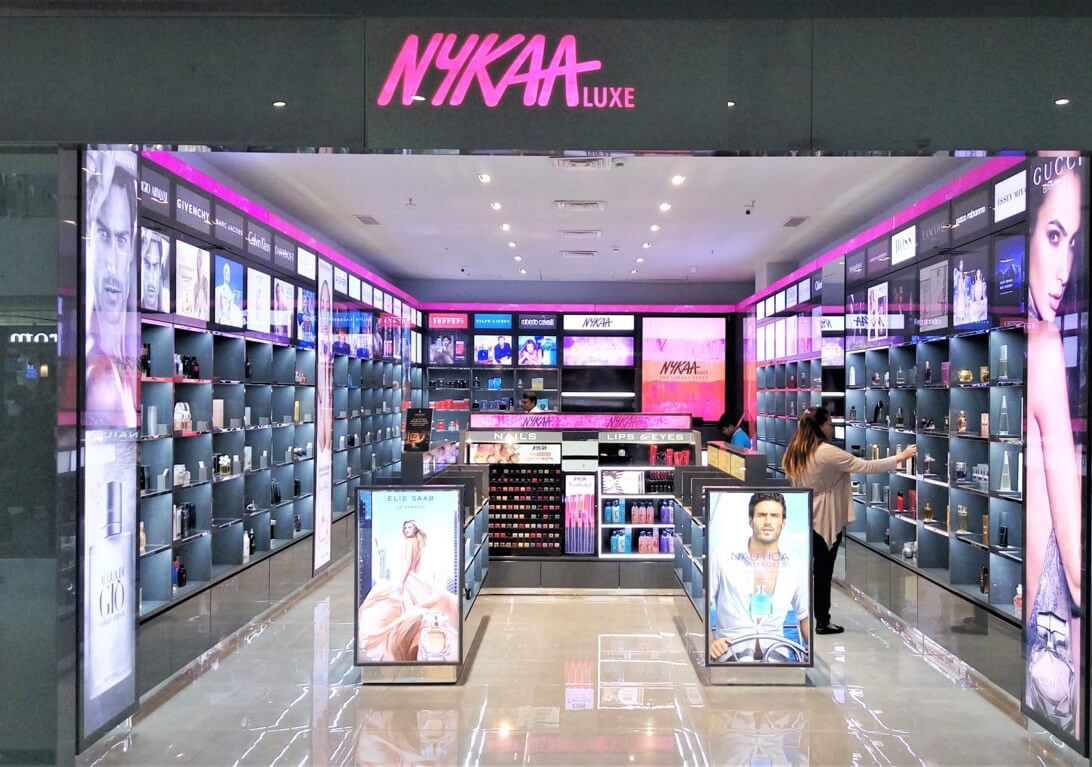 Nykaa's end of season sale