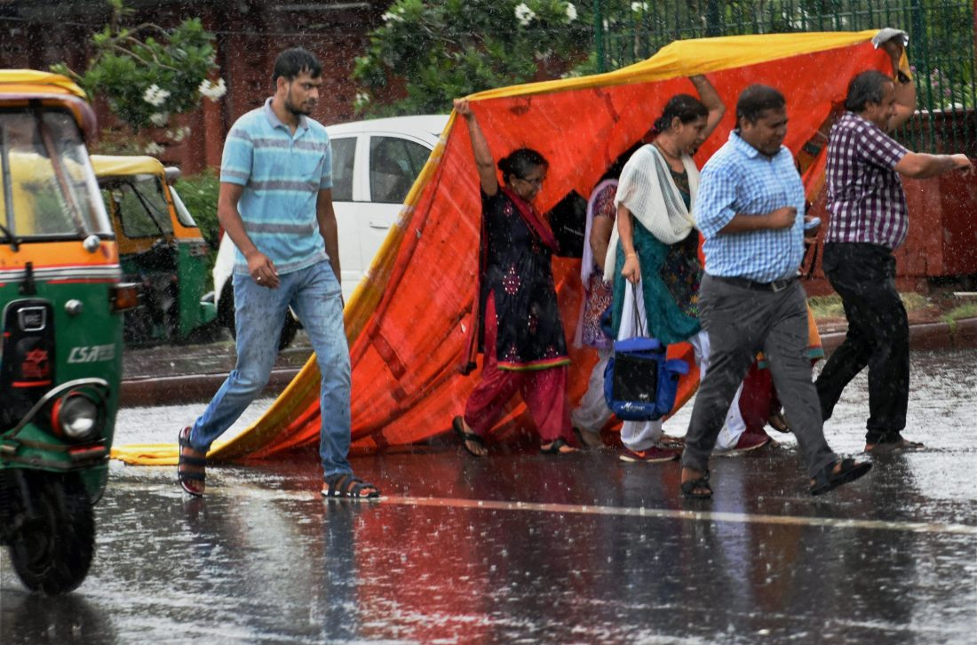 Rainfall In Delhi Is Expected To Reduce In 3 To 4 Days