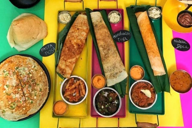 You'll Get Over 100 Types Of Dosas At This New Place In GTB Nagar!
