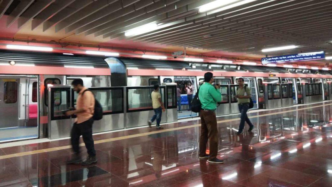 Delhi Metro's Pink Line