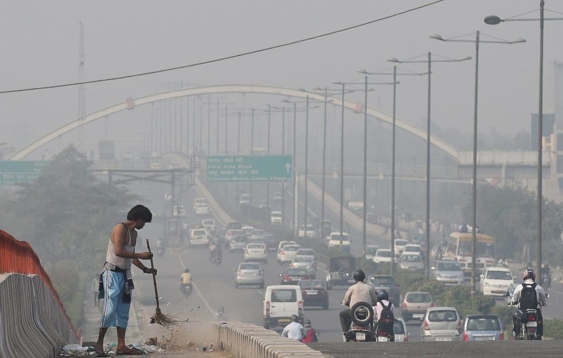 Pollution In Delhi Comes From Outside India