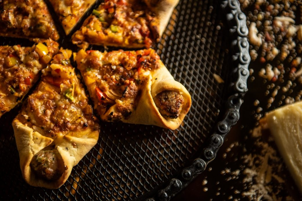 Star-Shaped Meatball Pizzas
