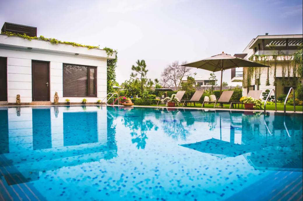 The Villa Serenity in Chattarpur