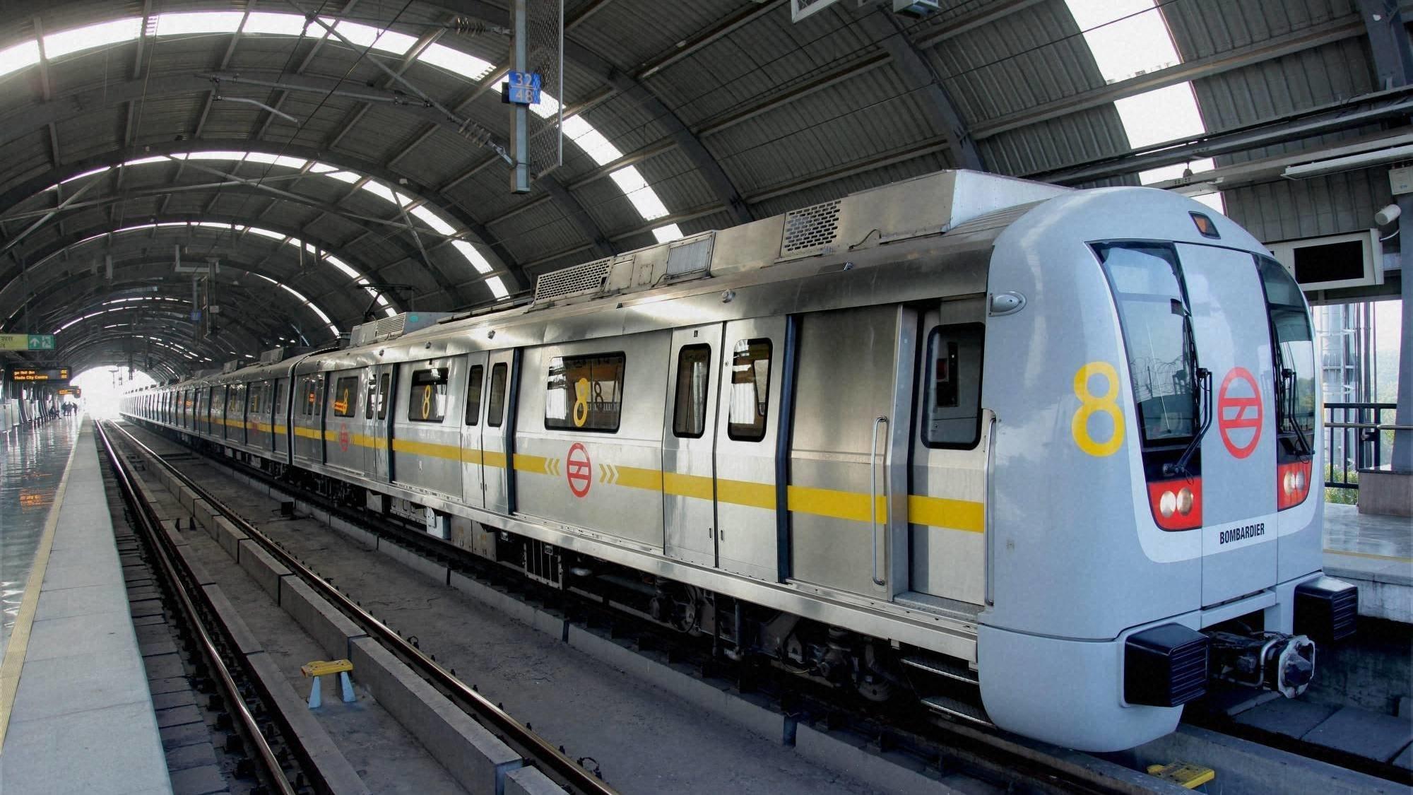 delhi metro free wifi