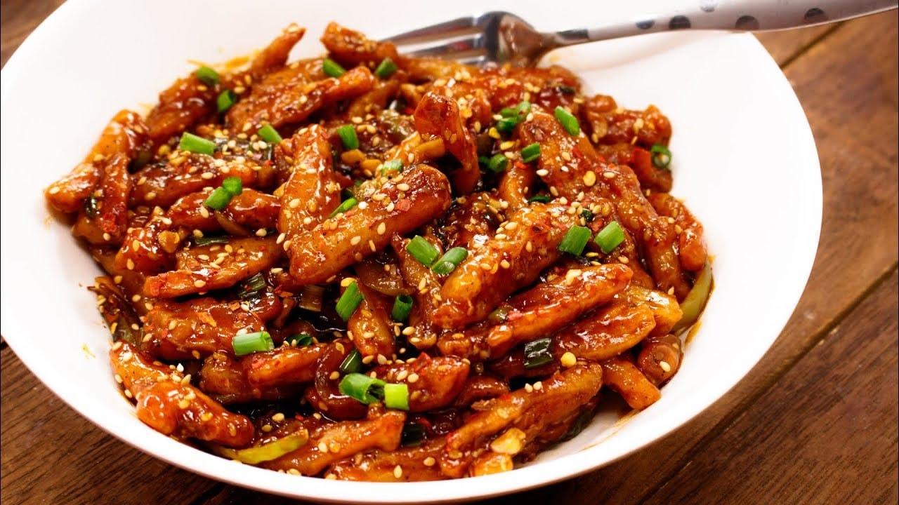 chili potatoes thapa